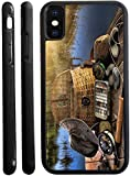 Rikki Knight Cell Phone Case for iPhone X - Traditional Fly Fishing Design