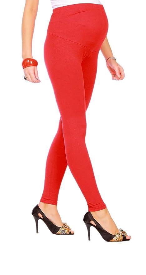 Futuro Fashion - Leggings para embarazadas (algodón, todas las tallas): Amazon.es: Ropa y accesorios