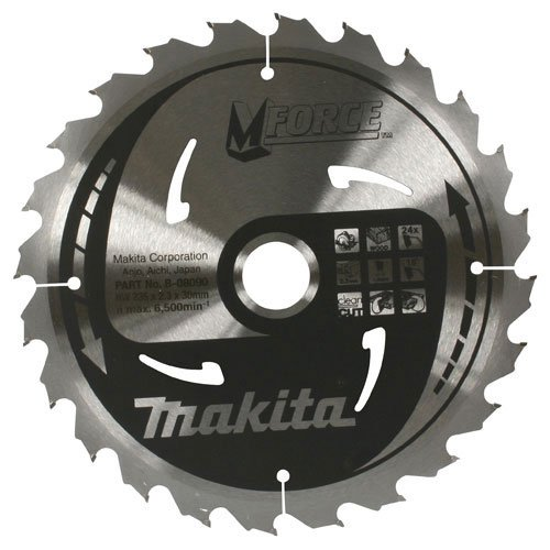 Makita b-08028 TCT Sä geblatt CSM X 18024e 2.0, mehrfarbig