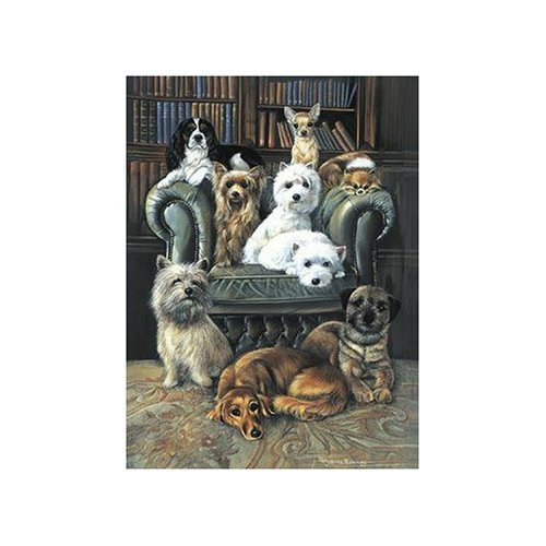 Sunsout A Dog's Life 1000 Piece Jigsaw Puzzle