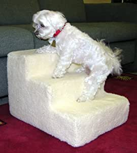 Amazon Com 4 Step Doggy Steps Pet Stairs Dog Ramp 1