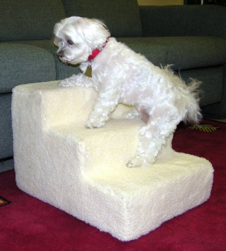 4 Step Doggy Steps Pet Stairs Dog Ramp +1 FREE COVER, My Pet Supplies