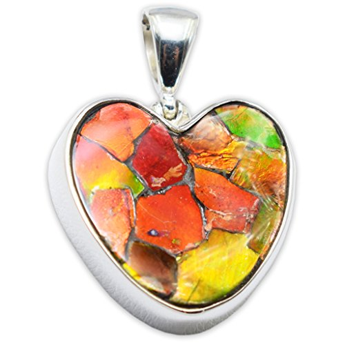 Starborn Creations Ammolite Pendant Necklace by Stones Desire