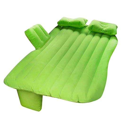 POIUDE cama inflable, colchón inflable para asiento trasero de ...