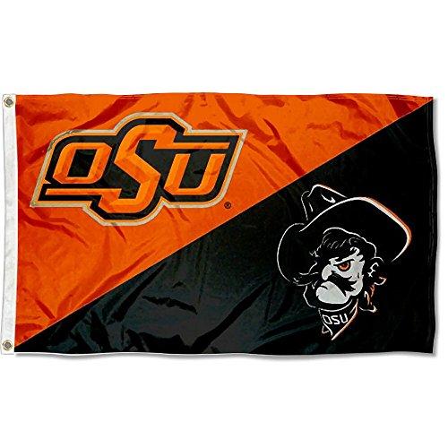 - OSU Cowboys Divided Logo College Flag