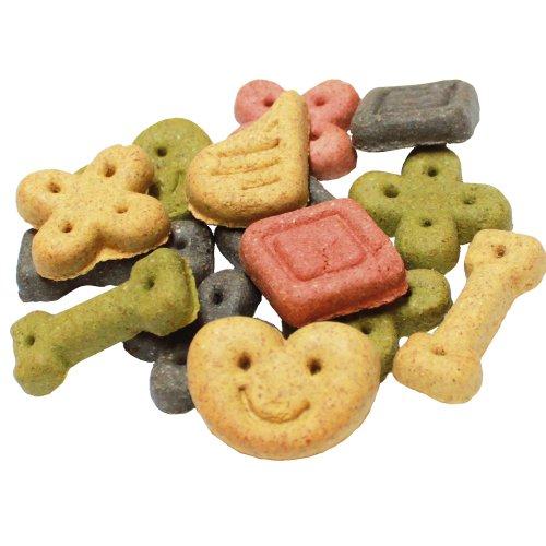 Hundekekse Glücks Kekse 500 g bunte Mischung aus verschiedenen Belohnungshäppchen in unterschiedlichen Geschmacksrichtungen Hundekuchen Hundeleckerlie