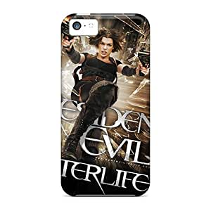 Durable Defender Cases For Iphone 5c Tpu Covers(2010 Resident Evil Afterlife 3d)