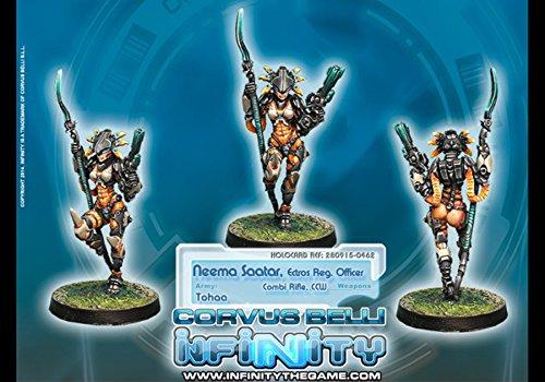 Tohaa Neema Saatar, Electros Regiment Officer Miniature Corvus Belli (Miniature Electro)