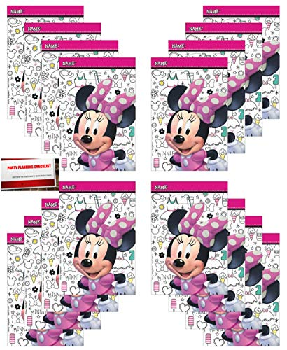 Minnie Mouse 16 Pack Party Plastic Loot Treat