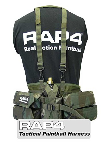 Paintball Harness (Woodland Camo) - paintball harness by Rap4