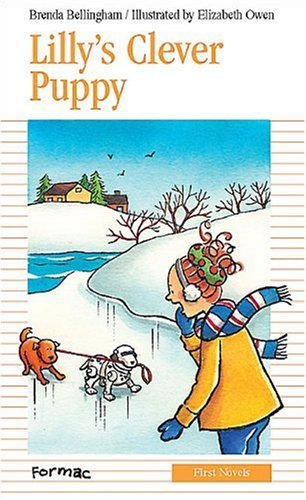 book cover of Lilly\'s Clever Puppy