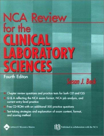 NCA REVIEW FOR THE CLINICAL LABORATORY SCIENCES 4ED (PB 2002)