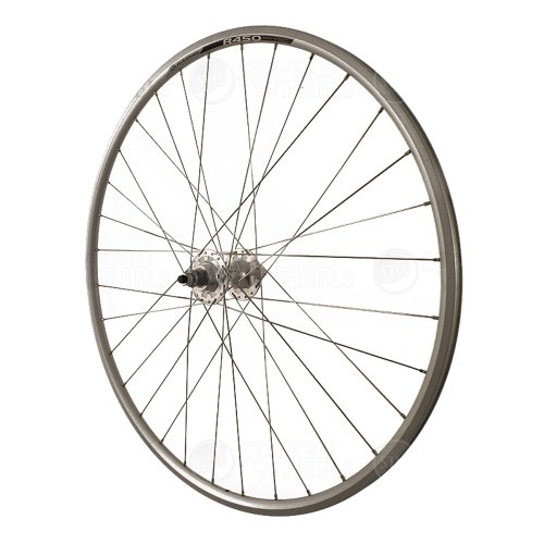 Formula Hubs Track (Sta-Tru Silver Formula Sealed Bearing High Flange Fixed/Free Track Hub Rear Wheel (700X20))