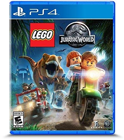 Amazon com: LEGO Jurassic World - PlayStation 4 Standard