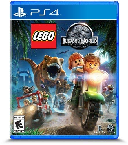 LEGO Jurassic World - PlayStation 4 Standard Edition (Vita Games Ps Sonic)