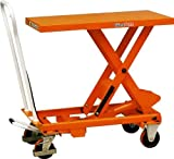 Giant Move MH-D25 Steel Hydraulic Lift Table, 550 lbs Capacity, 32-1/2
