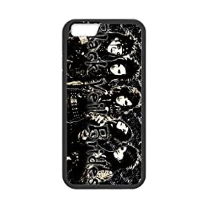 ROBIN YAM Black Veil Brides Hard TPU Rubber Coated Phone Case Cover for iPhone 6 4.7