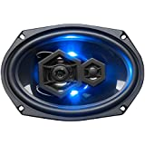 BOSS Audio Elite Series Car Speakers, Model B69LED | 500 Watt 6 x 9 Full Range