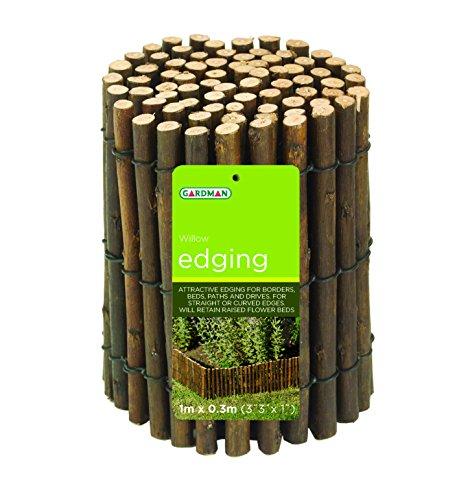 Gardman 2m x 0.3m Willow Lawn - Edging Gardman