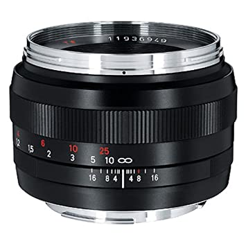 Zeiss Normal 50mm f/1 4 ZE Planar T Manual Focus Lens for Canon EOS Cameras