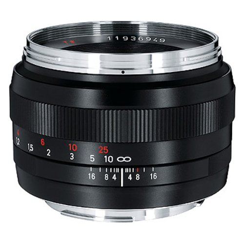 Zeiss Normal 50mm f/1.4 ZE Planar T Manual Focus Lens for Canon EOS Cameras (Carl Zeiss Lens For Canon 5d Mark Ii)