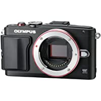 Olympus Mirrorless SLR E-PL6 Body Only (Black) - International Version