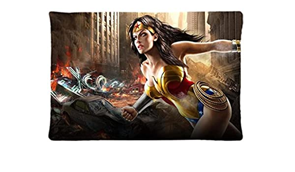 Wonder Woman Unique Home manta decorativa fundas de almohada ...