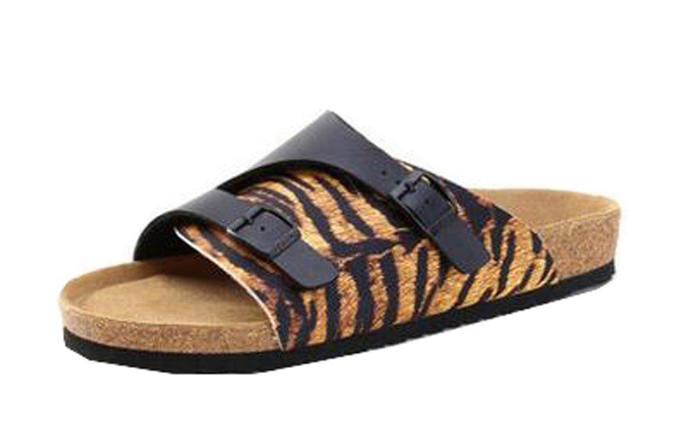 Dilize - Sandalias de vestir para hombre 41 EU|Tiger Print