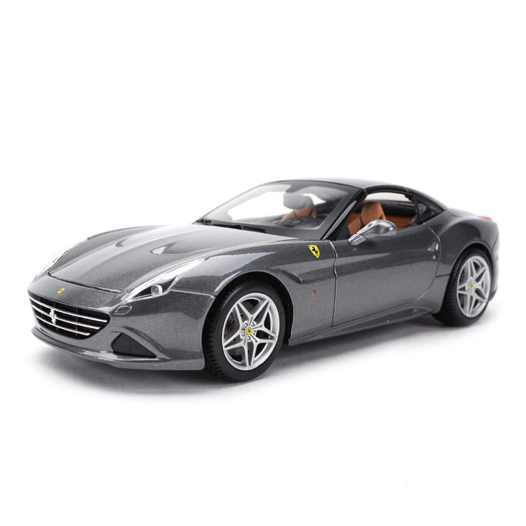 SXET-Model car Model Car Sports Car Model Die Casting Model 1:18 Ferrari California Alloy Model Car Toy Car Gift Model