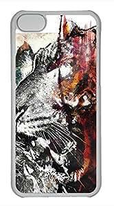 iPhone 5c case, Cute Beasts Art iPhone 5c Cover, iPhone 5c Cases, Hard Clear iPhone 5c Covers