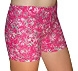Volleyball Girls' Sports Compression Shorts