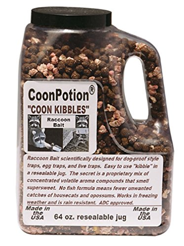 Coon Kibbles Wild Cherry Scented Raccoon Dog Proof Kibble Bait - 64 oz Container