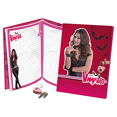 Chica Vampiro - 6786 - Journal Intime Avec Cadenas giochi preziosi Agendas et cahiers de textes
