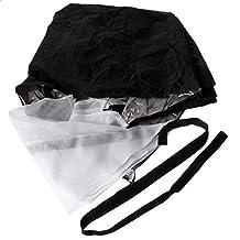 1Pc Sports Fitness Strength Speed Training Aid Resistance Parachute Running Umbrella