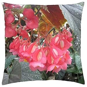 Colorful Flowers a garden makeup 36 - Throw Pillow Cover Case (18
