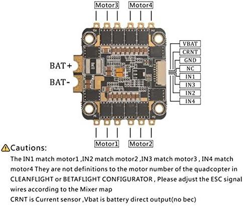 REV35 35A BLheli/_S 2-6S 4In1 ESC Eingebauter Stromsensor für RC Racing FPV Drone
