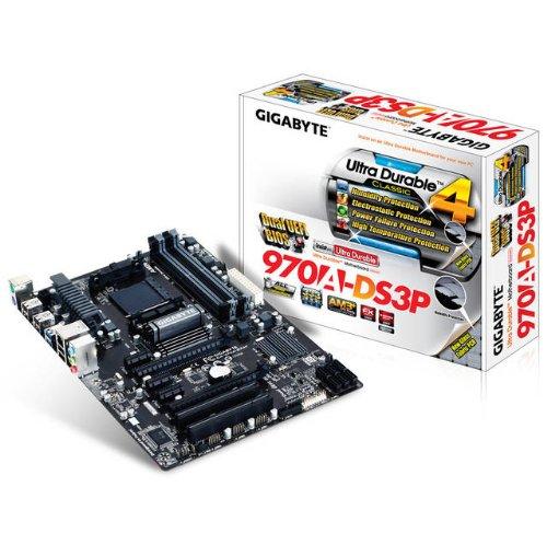 Raid Board - Gigabyte AM3+ AMD 970 SATA 6Gbps USB 3.0 ATX AM3+ Socket DDR3 1600 Motherboards (GA-970A-DS3P)