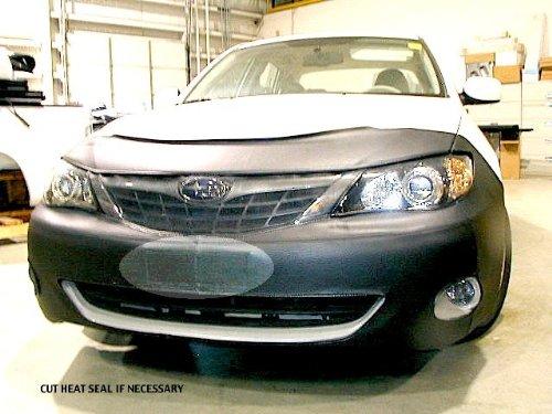 Lebra 2 piece Front End Cover Black - Car Mask Bra - Fits - SUBARU IMPREZA 2008-2011 not wrx - Subaru Impreza Car Bra