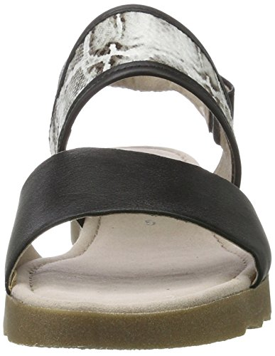 Gabor Ladies Comfort-62.742 Sandali Aperti Neri (schw-w (jute / Amb) 57)