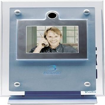 amazon com vialta beamer phone video station bm80 1 single