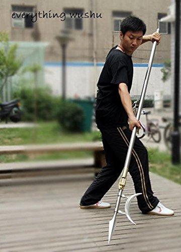 Wushu One Sided Halberd Martial Arts Equipment Wushu long Weapon