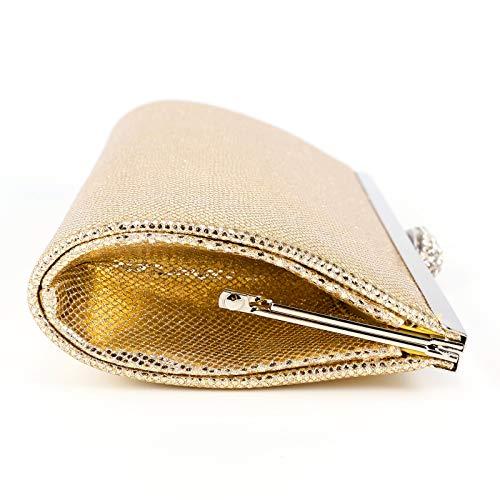 Argento oro donna Borsa Anladia a scatola realizzata Cle artificiale quadretti oro Tous a De rosa in pelle Forma wga6qtaI