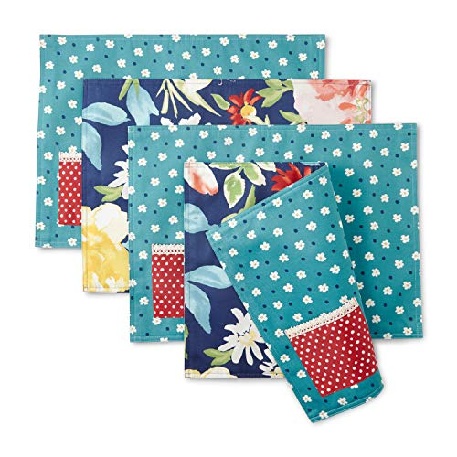 The Pioneer Woman Fiona Floral Pocket Placemats, Set of 4