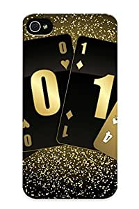Anettewixom Case Cover Protector Specially Made For Iphone 4/4s Card 2014 Suit New Year