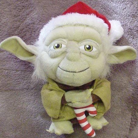 Star Wars Super Deformed Santa Yoda by Comic Images