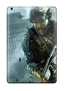 New Premium Flip Cases Covers Crysis 2 Nanosuit Skin Cases For Ipad Mini