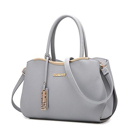 Borse Shoulder Tote borsa a Bag Handbag Spalla AVERIL tasche grigio a Donna Borsa con G Mutil Bag mano IU70vxw