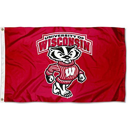 Wisconsin Badgers UW Bucky University Large College ()