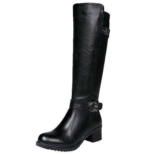 Guess devaina, stivali alti donna, beige (tan), 40 eu amazon shoes marroni inverno