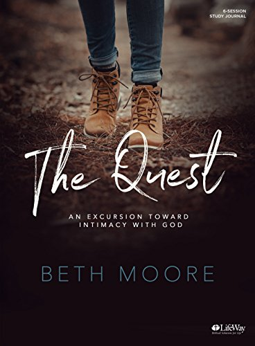 The Quest - Study Journal: An Excursion Toward Intimacy with God cover